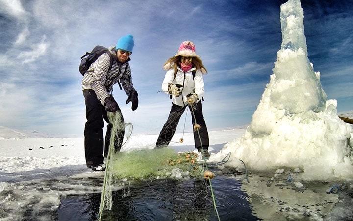 çılgır-gölü-buz-balıkçılık-kars-ardahan-