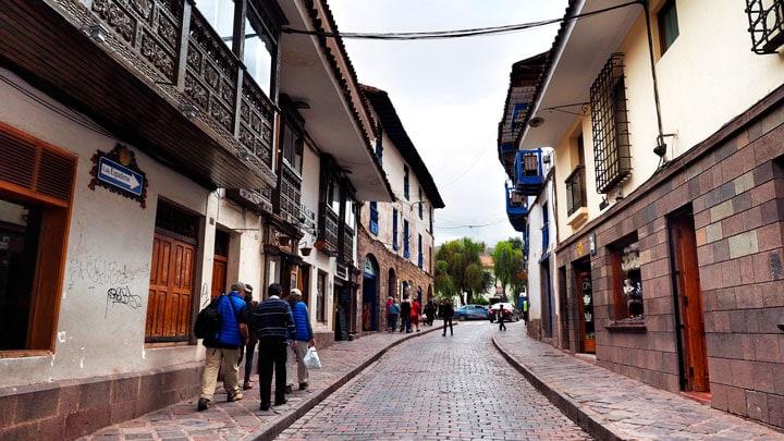 Cusco-sokakta