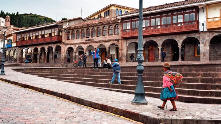 Cuscoda-yerliler