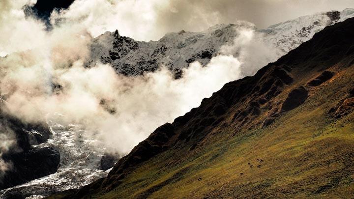 Salkantay-Trek-bulutlar
