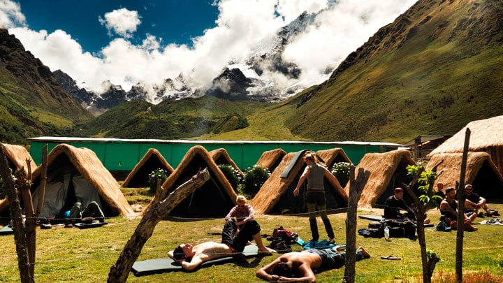 Salkantay-Trek-kamp-alani