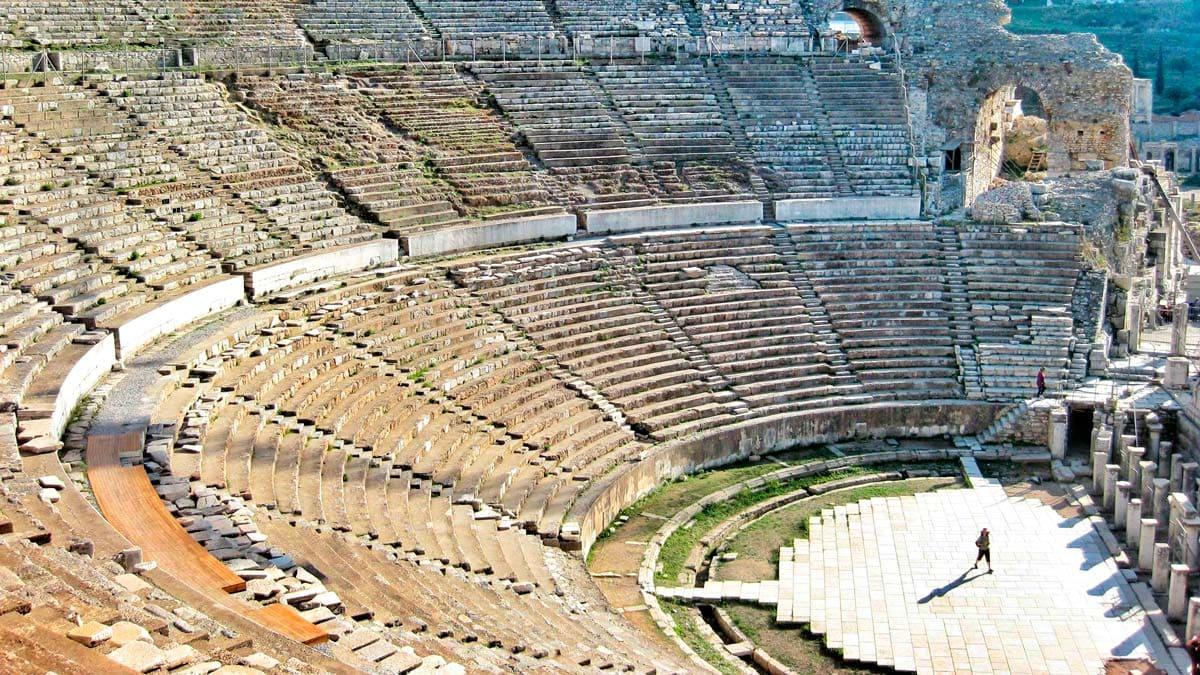 Efes Antik Kenti Biz Evde Yokuz