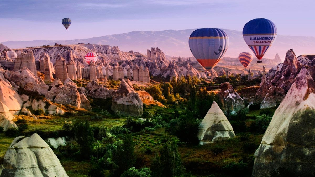 kapadokya hot air baloon cappadocia
