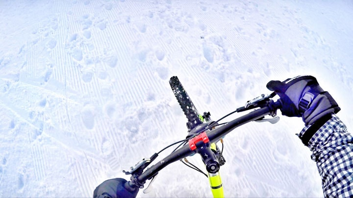 kis-bisikleti-kar