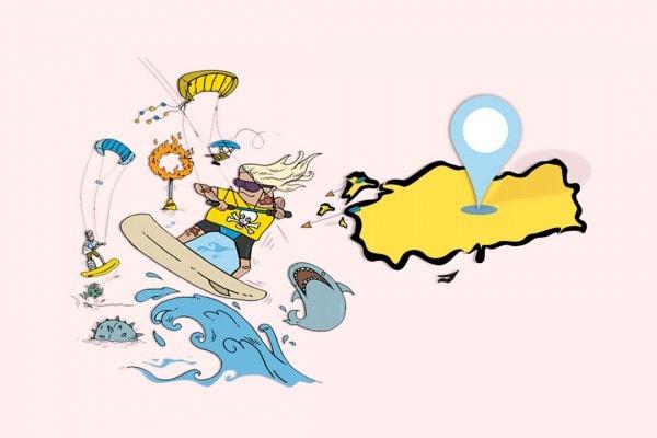 kitesurf-harita