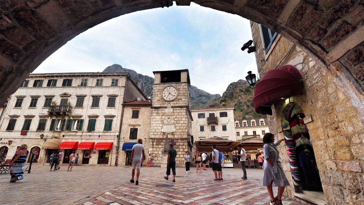 """What to see in Kotor Old Town"""