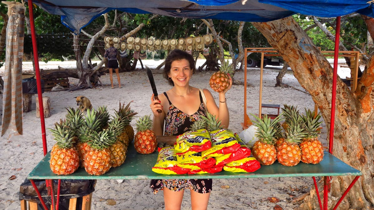 pineapples in Cuba
