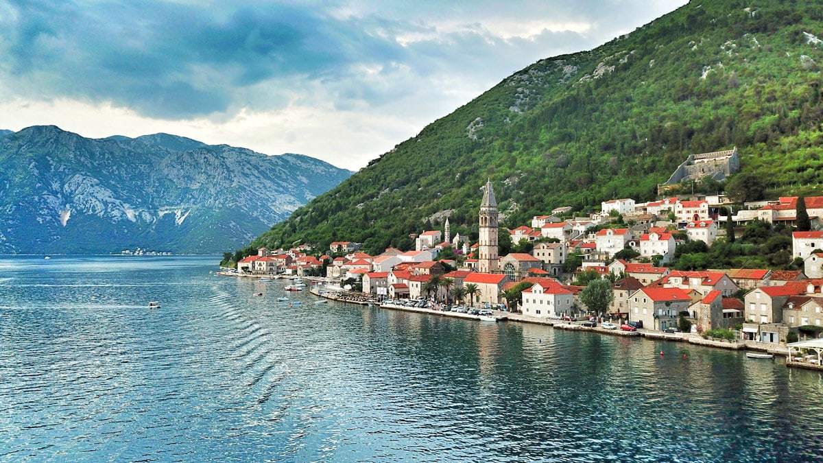 The fairy tale city of Perast