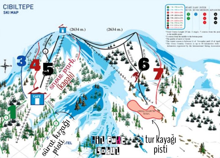 sarikamış-ski-resort-map-kayak-merkezi-haritası