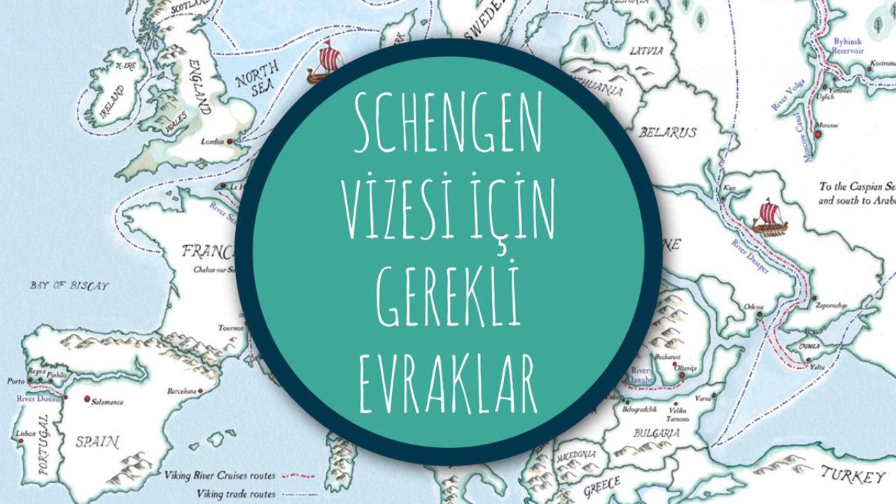 Schengen Vizesi Basvuru Formu Ve Gerekli Evraklar Biz Evde Yokuz