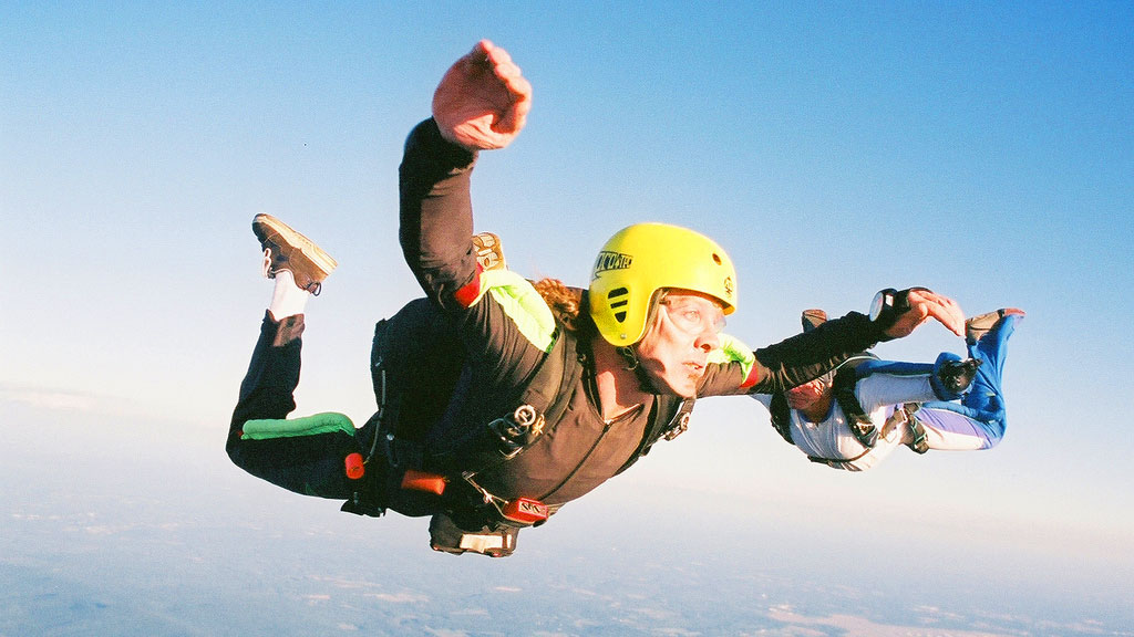 Serbest Paraşüt Skydiving Gökyüzü Dalişi Hakkinda Biz Evde Yokuz