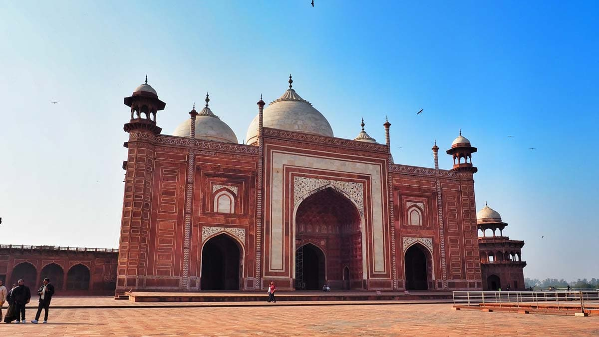 When you visit the Taj Mahal, you will see much more than the gleaming white edifice of the mausoleum.