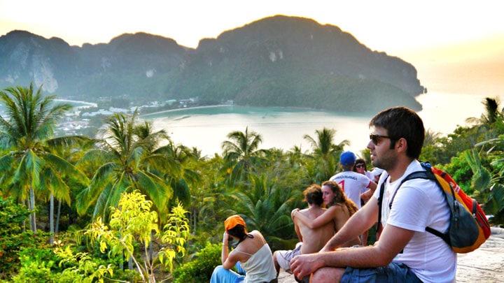 tayland-koh-phi-phi-sunset